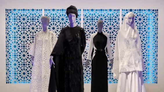 Photo of A Muslim fashion exhibition creates controversy in Germany