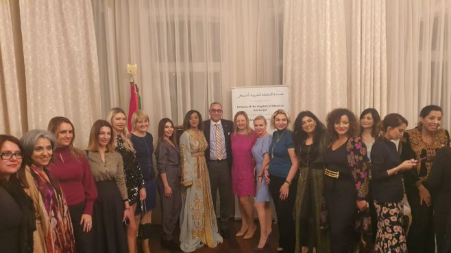Azerbaijan hosts a colorful Morocco fashion show