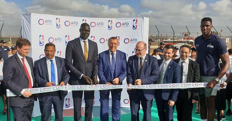 Photo de Basketball : Un nouveau terrain inclusif mis en place au complexe sportif de Zenata