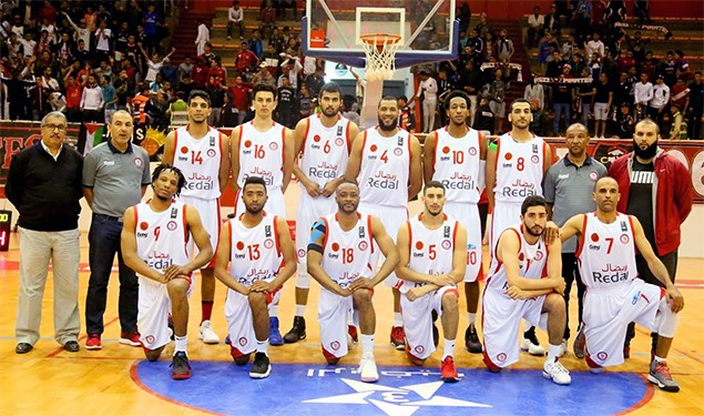 Photo de L'AS Salé termine 4è au Championnat arabe de basketball