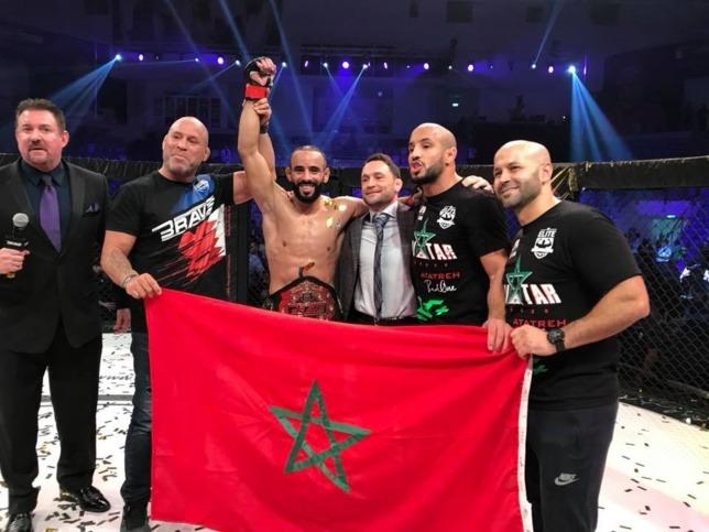 Photo de MMA : Othman Azaitar combattra le 7 septembre à Abou Dhabi contre le Finlandais Teemu Packalen