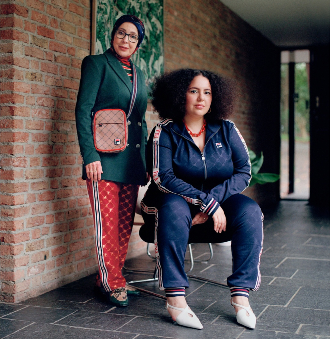 Photo of The stylish Moroccan-Dutch mother and daughter behind this cool Instagram account