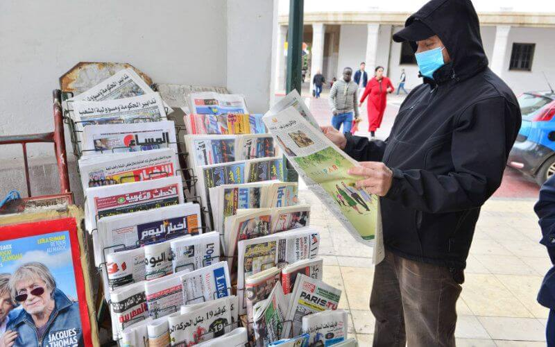 La presse écrite est frappée de plein fouet par la pandémie de COVID-19. En cause, la décision du ministère de la Culture relative à la suspension de la publication et de la distribution des supports papier.