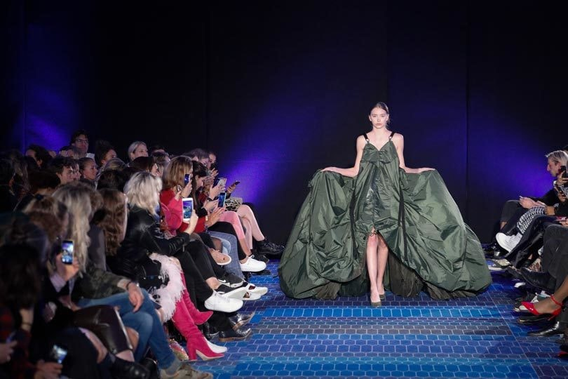 Photo de Un styliste maroco-néerlandais en mode camouflage à la Dutch Sustainable Fashion Week