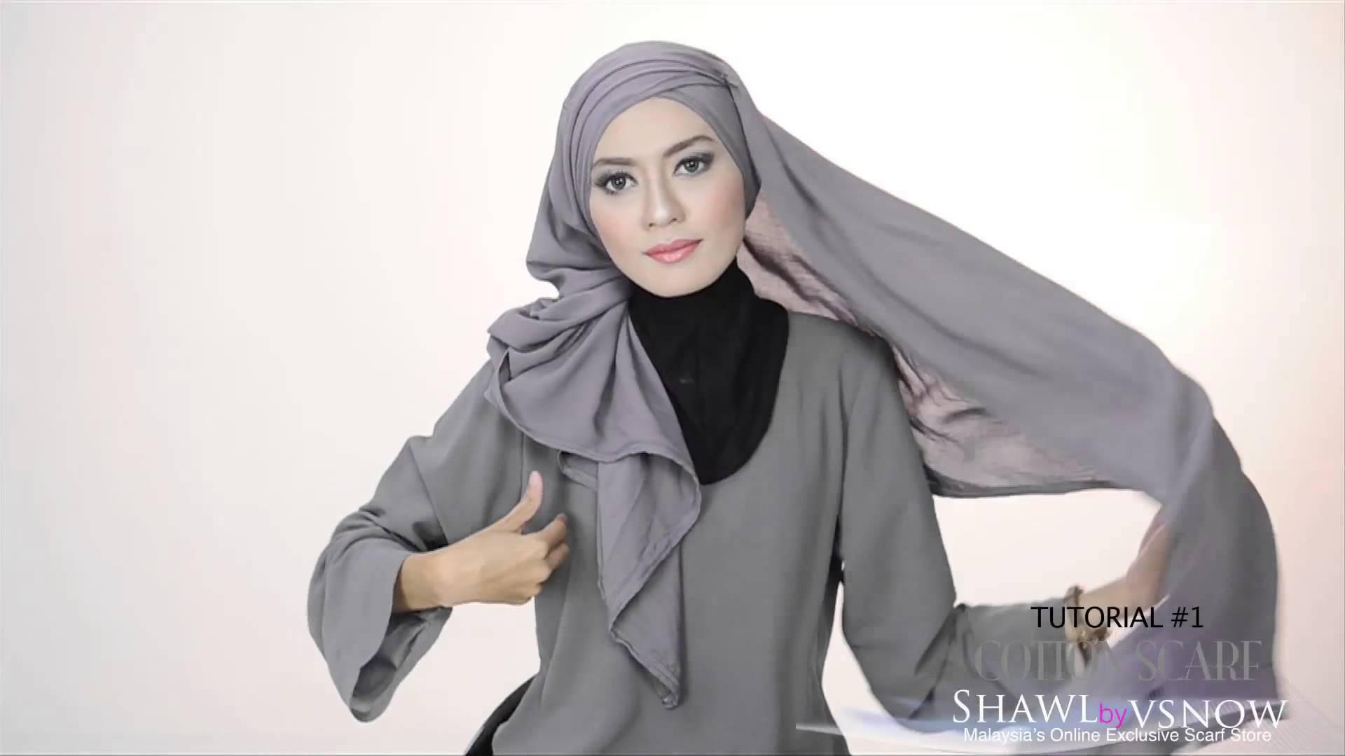 Photo de Vidéo de la semaine : Comment porter son hijab autrement et surtout facilement