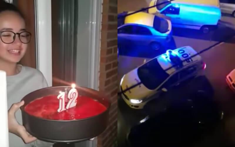 C'est une très belle surprise qu'a reçue une jeune fille d'origine marocaine à l'occasion de son anniversaire. Tout le voisinage a participé à cette célébration quelque peu originale.