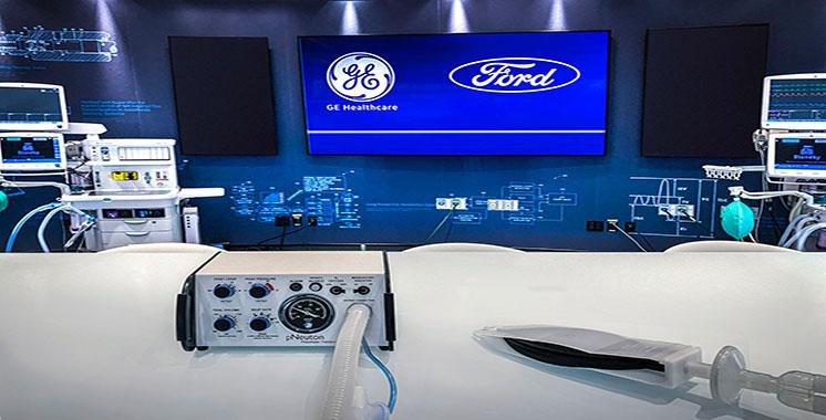 Photo of En collaboration avec GE Healthcare : Ford produira 50.000 ventilateurs respiratoires dans son usine du Michigan