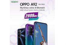Photo of Smartphones : Oppo lance au Maroc le A92 au prix de 2.999 DH