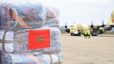 Photo of Arrivée à Beyrouth de l'aide marocaine médicale et humanitaire d'urgence au Liban