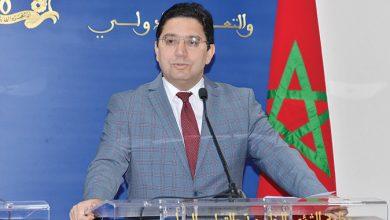 Photo de Nasser Bourita durcitle ton à Dakhla : Pasde processus politique avec les gangs!