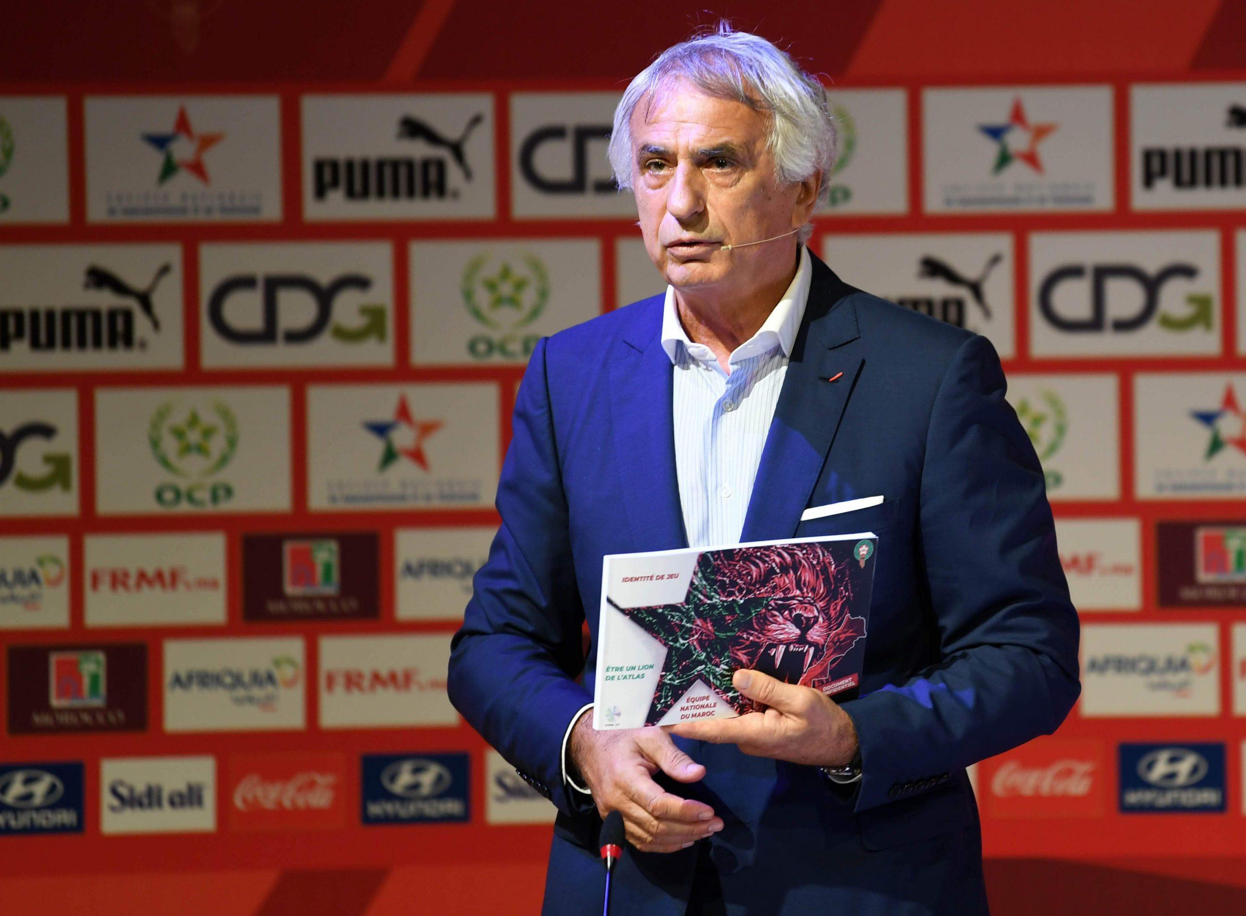 Photo de Vahid Halilhodzic dresse les contours de la nouvelle identité de jeu du Maroc