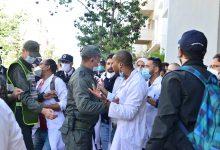 Photo de Grève du personnel de santé, entre l'enclume du Covid et les matraques de la police