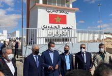 Photo de Les leaders des partis politiques en visite à El Guerguarat