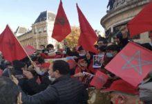 Photo de Lors d'un rassemblement pacifique à Paris, des Marocains de France soutenant la marocanité du Sahara ont été attaqués par des «mercenaires» du Polisario. L'Union des associations des Marocains de l'Essonne a décidé de porter plainte pour coups et blessures.