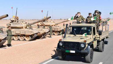 Photo de À la frontière avec le Maroc, l'état-major algérien veut galvaniser à coup d'exercices militaires