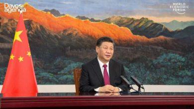 """Photo de Xi Jinping met en garde contre """"une nouvelle guerre froide"""""""