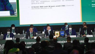 Photo de À Rabat, le nouveau président de la Confédération africaine de football en passe d'être élu