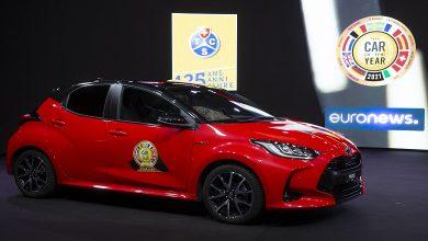 Photo de La Toyota Yaris élue voiture européenne de l'année