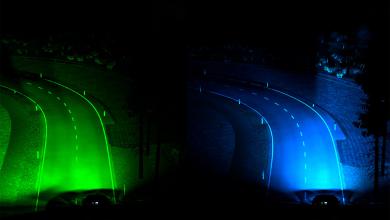 Photo de De nouveaux phares pour faciliter la conduite de nuit